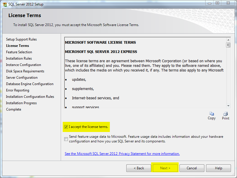 ssms2012 install 2