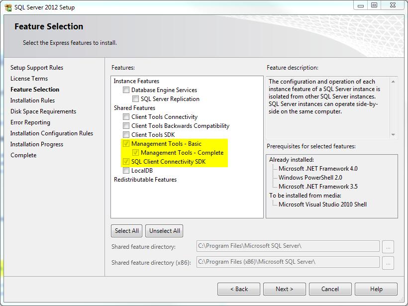 ssms2012 install 3