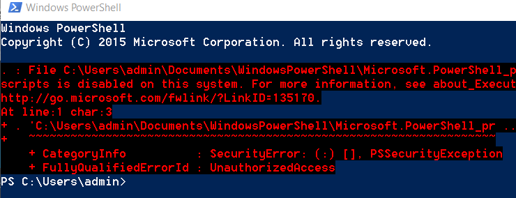 PowerShell-with-sharp-font